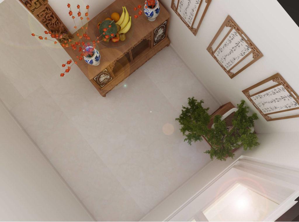 không gian cho phòng thờ nhỏ
