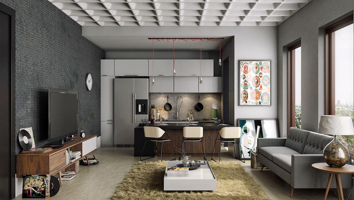 Mẫu nội thất căn hộ đẹp