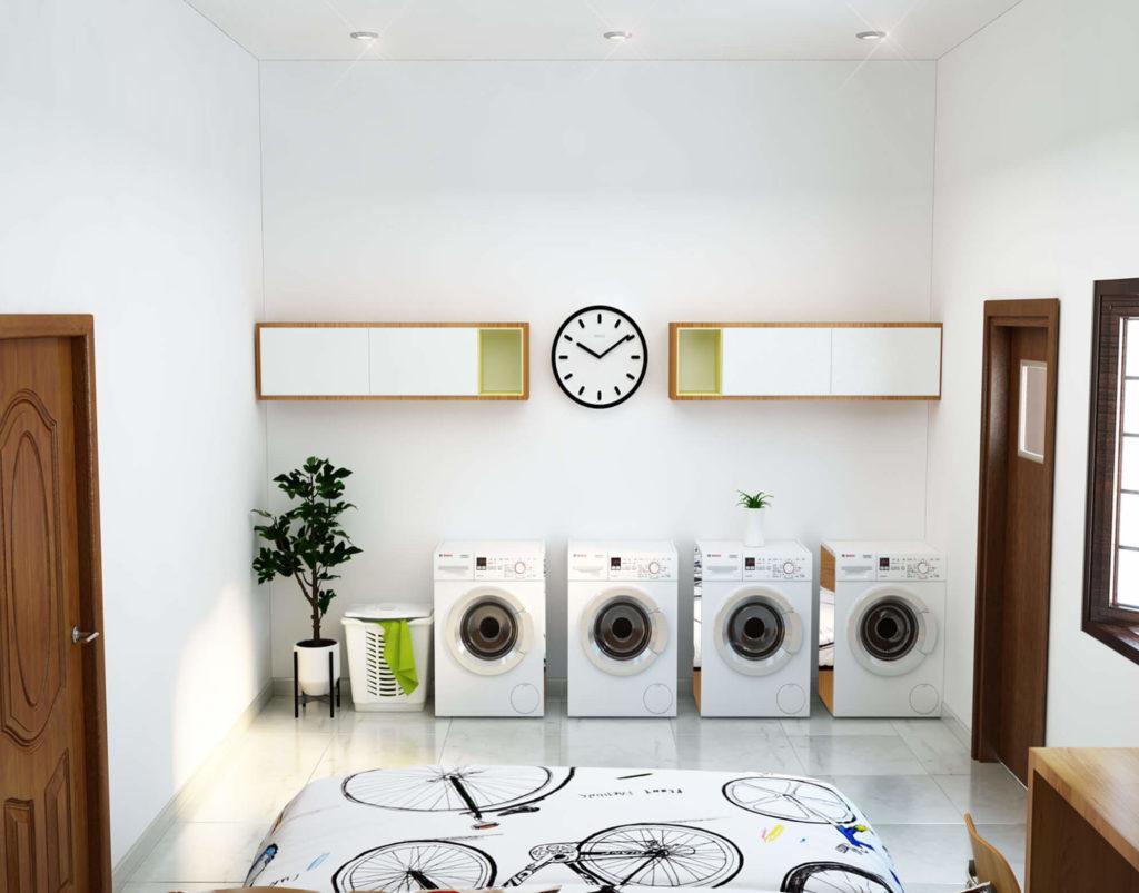 Phòng giặt đẹp