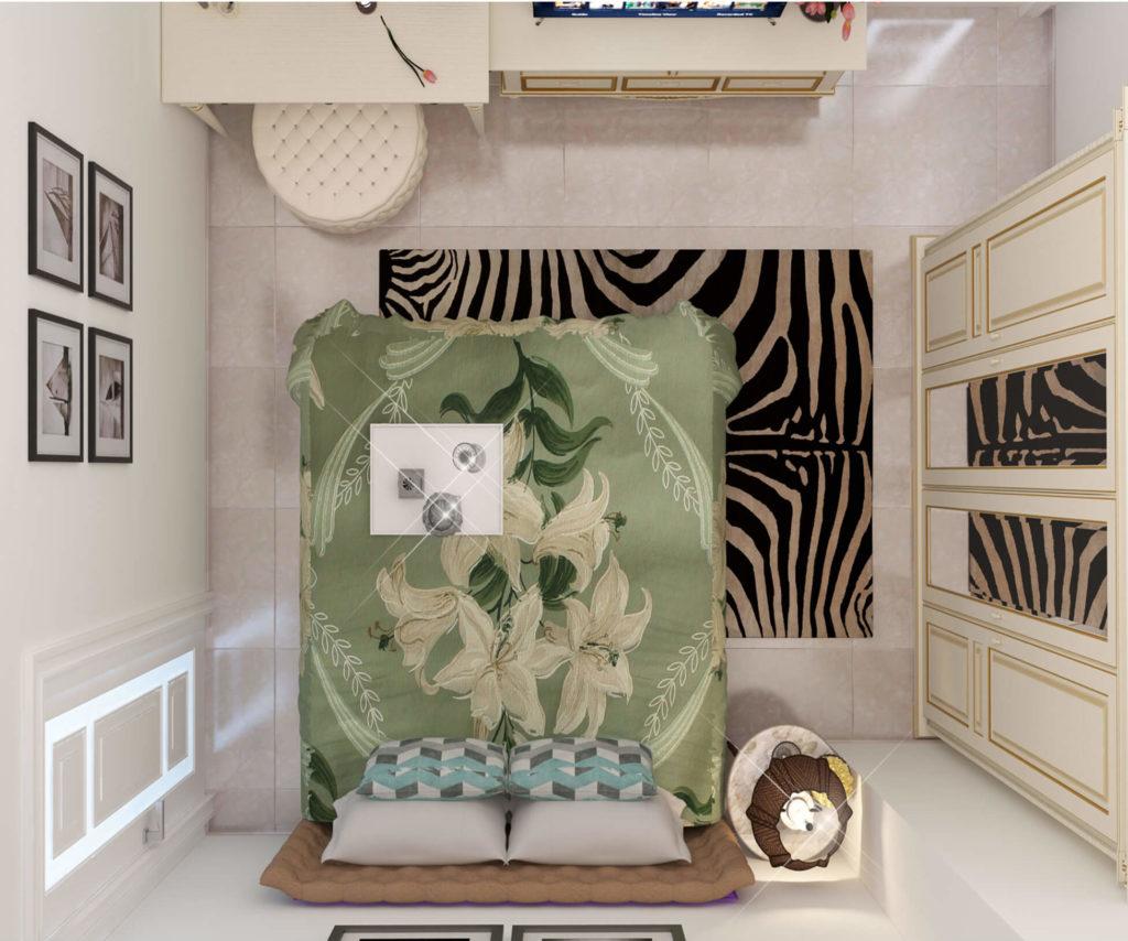 Phòng ngủ bán cổ điển đẹpPhòng ngủ bán cổ điển đẹp
