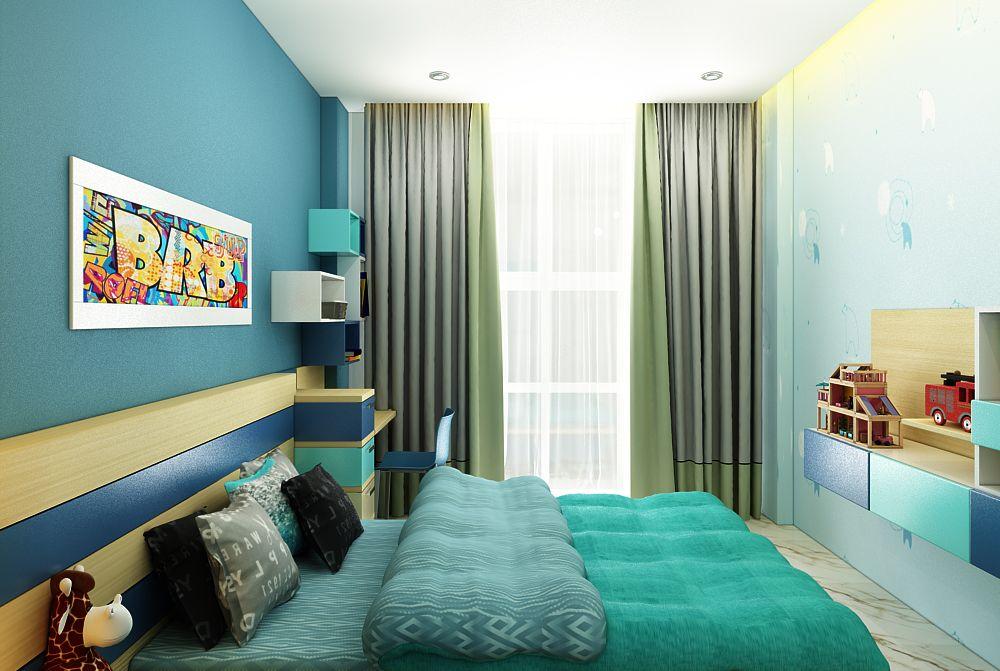 Phòng ngủ bé trai đẹp