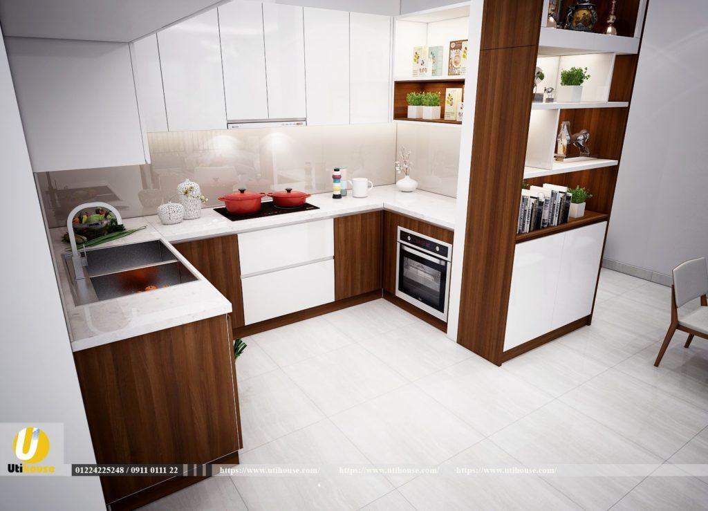 Thiết kế bếp căn hộ