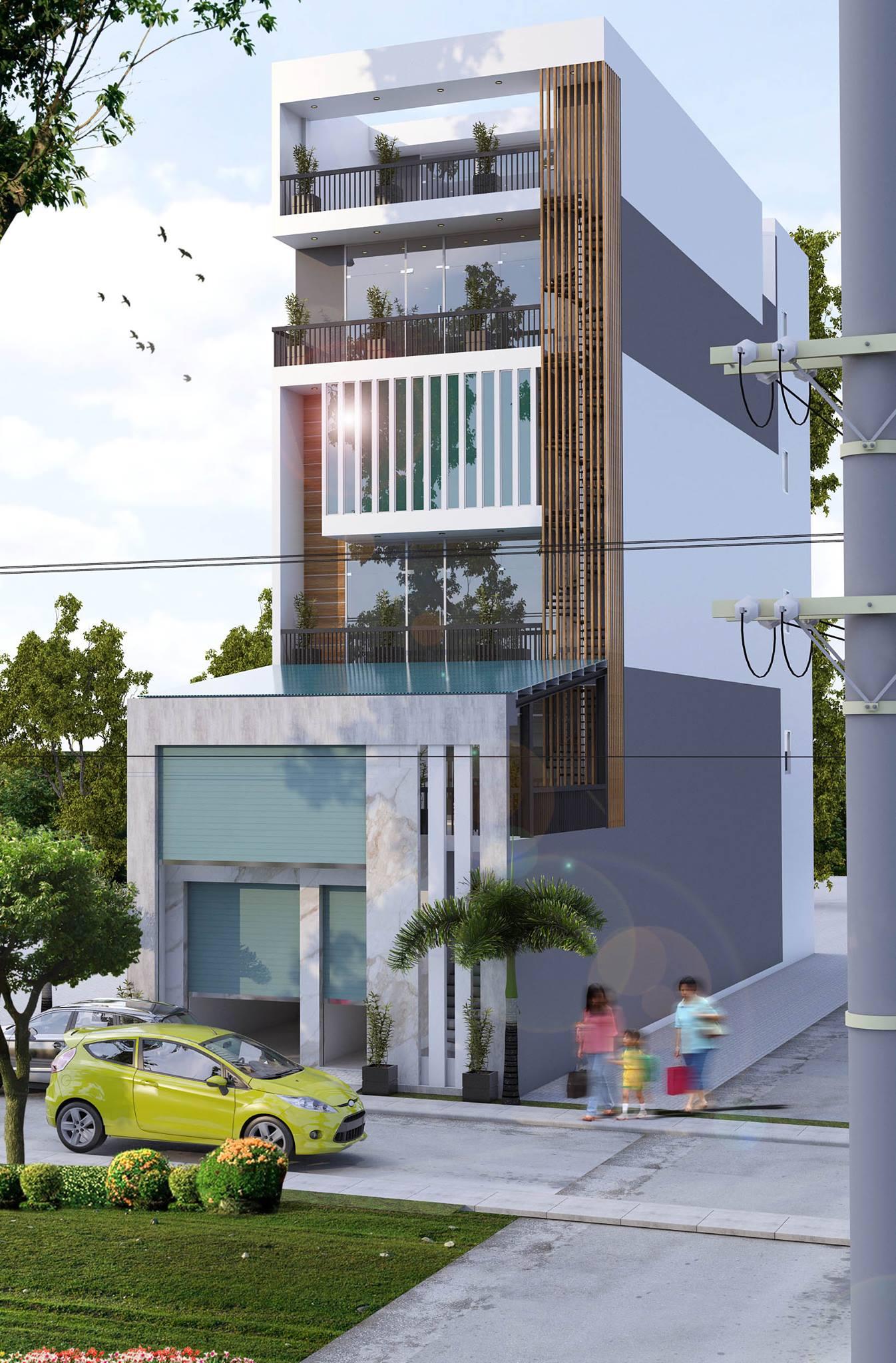 Những mẫu thiết kế nhà phố hiện đại đẹp hiện nay