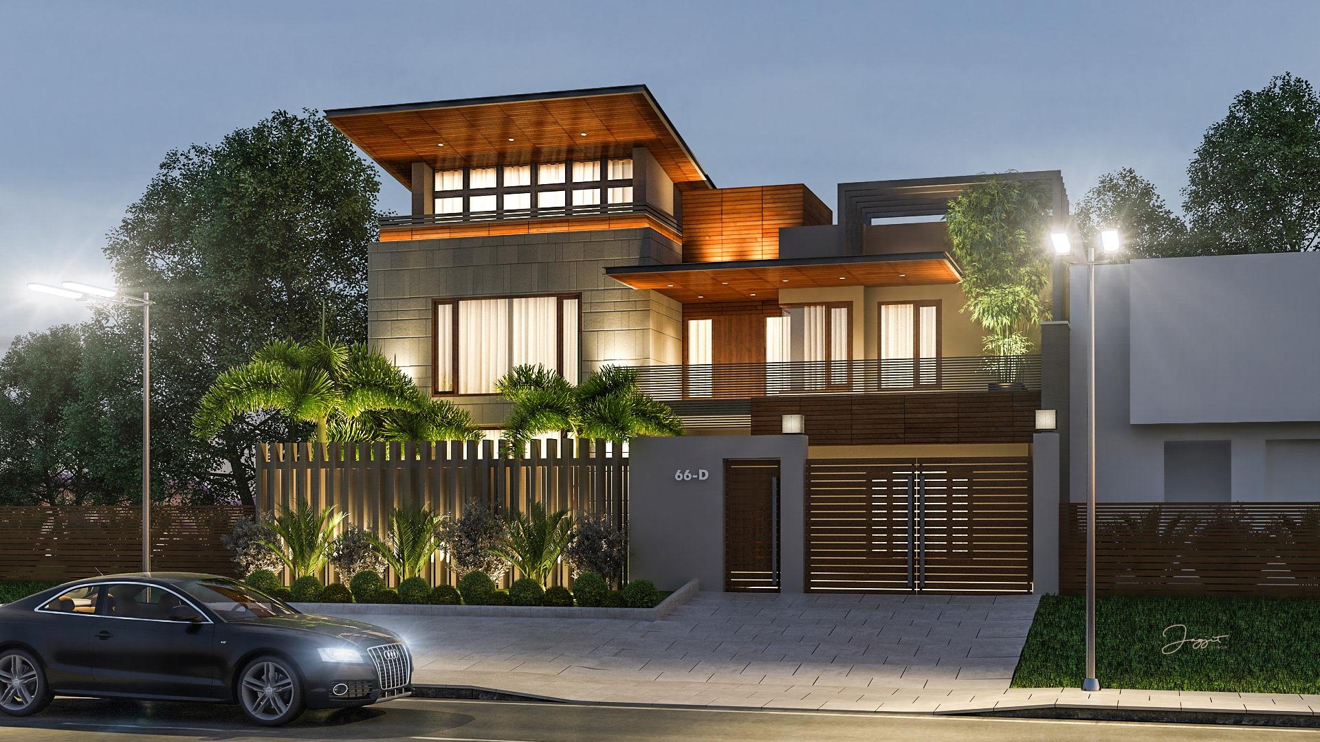 Thiết kế nhà phố hiện đại đẹp