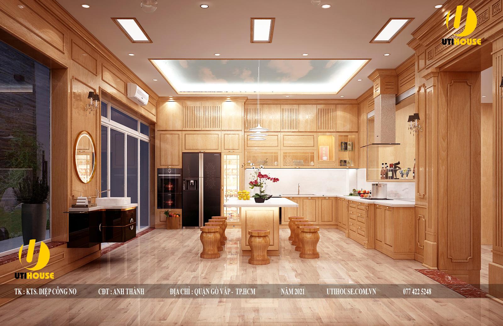 Kích thước chuẩn Lỗ Ban của bếp chung cư