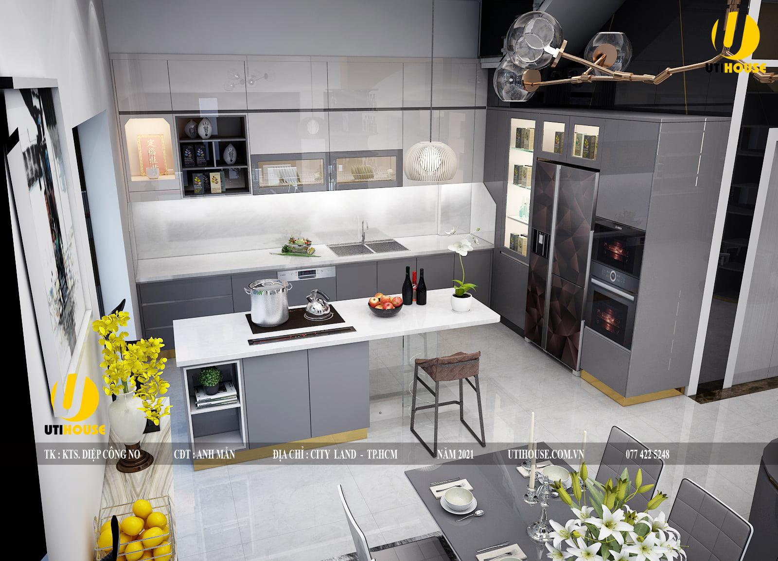 Thiết kế nhà bếp chuẩn phong thuỷ