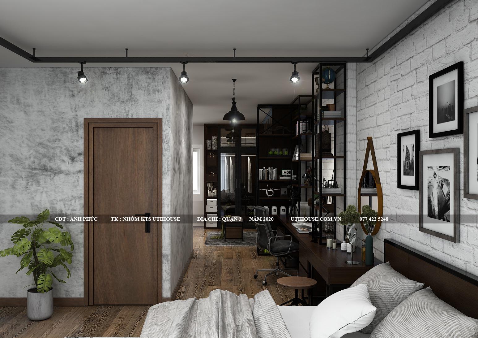 Lợi thế của thiết kế phòng ngủ kiêm phòng làm việc hiện đại