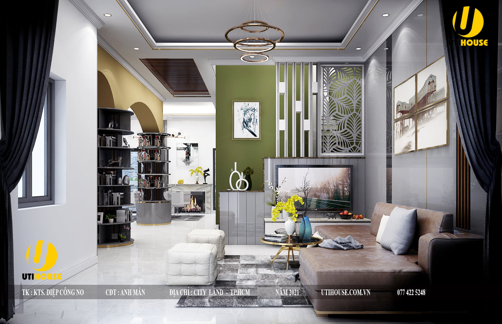 Một số cách thiết kế nội thất cho nhà ở trở nên hiện đại và sang trọng