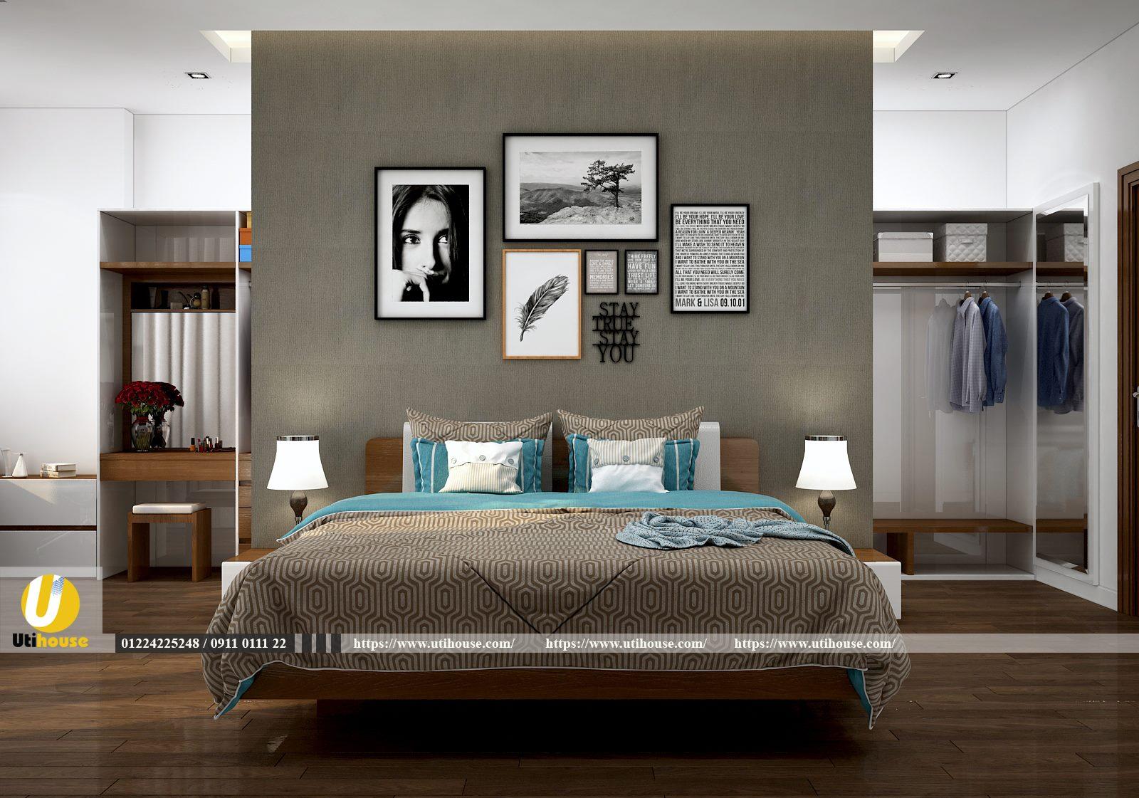 Một số kinh nghiệm chọn màu sơn cho phòng ngủ hiện đại
