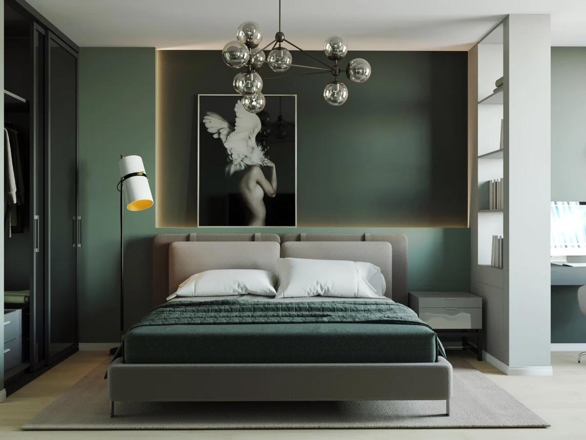 Ý nghĩa của phòng ngủ màu xanh