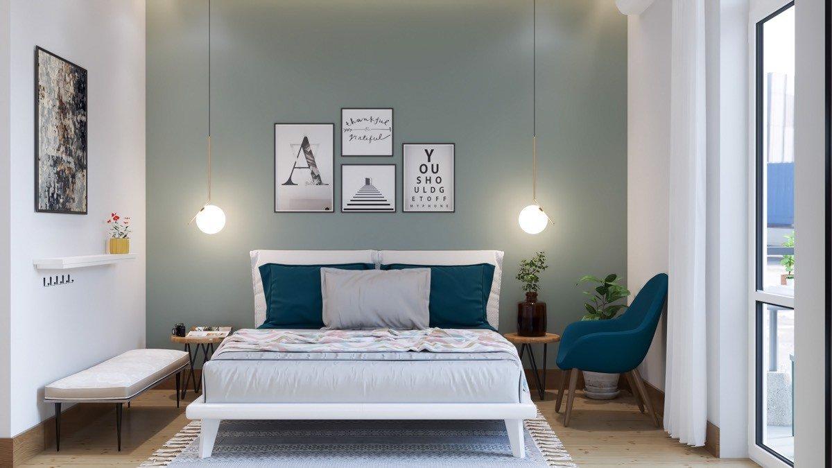 TOP những mẫu phòng ngủ màu xanh mà ai cũng muốn sở hữu