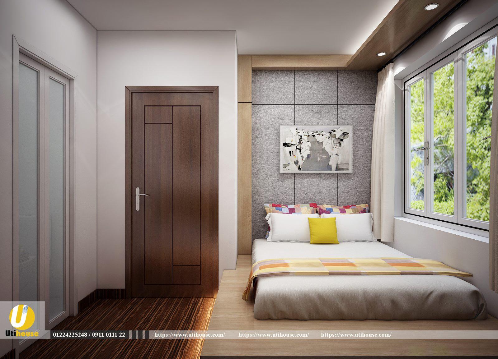 TOP những mẫu thiết kế phòng ngủ tông màu trắng hiện đại nhất