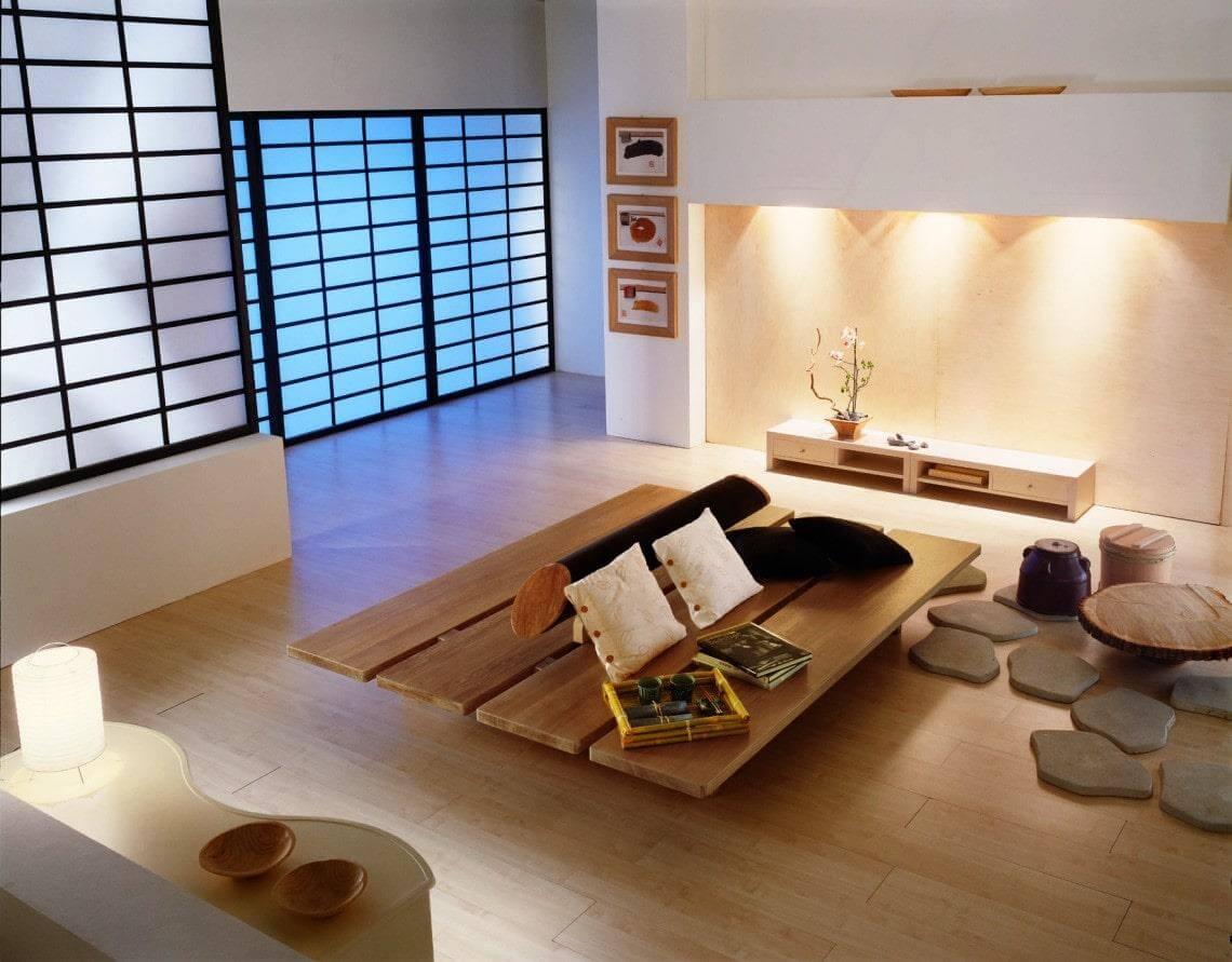 Xu hướng thiết kế nội thất nhà ở theo phong cách Nhật Bản
