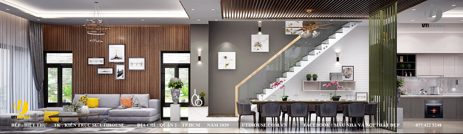 Mẫu thiết kế nội thất cao cấp sang trọng bậc nhất năm 2021