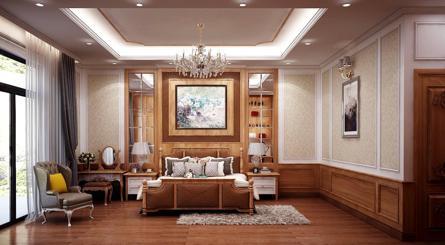 Mẫu thiết kế nội thất phòng ngủ đẹp mê ly