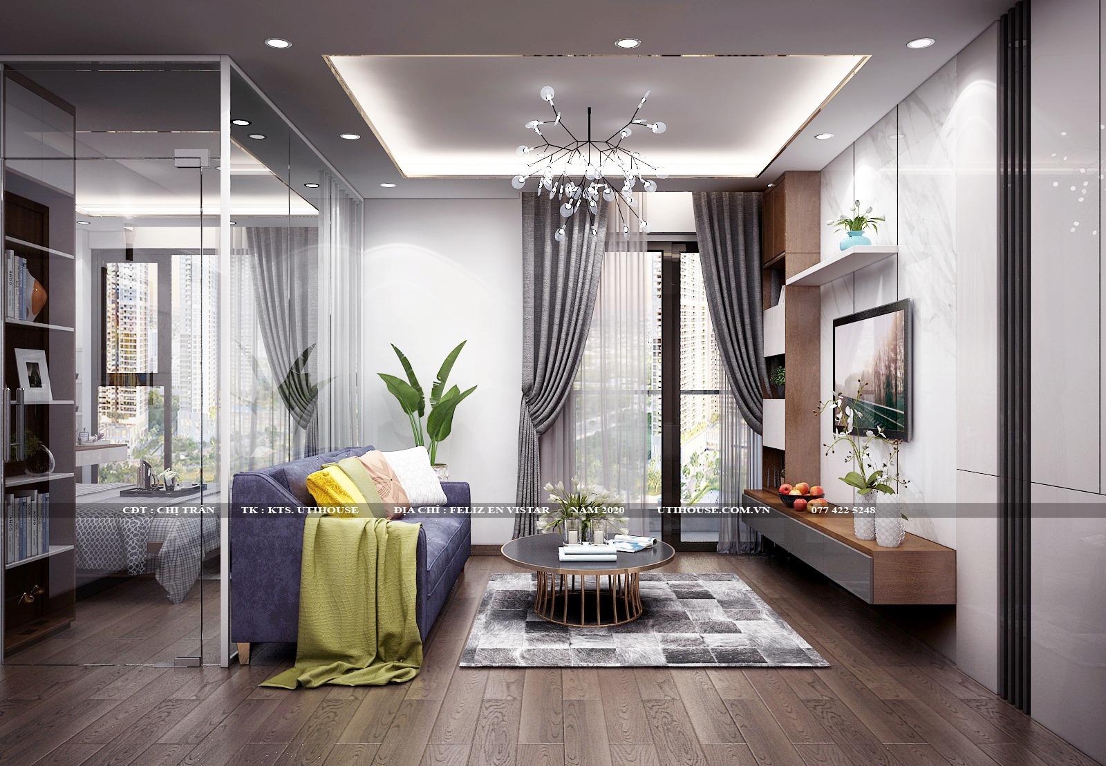 Tổng hợp mẫu thiết kế nội thất căn hộ chung cư cao cấp sang trọng