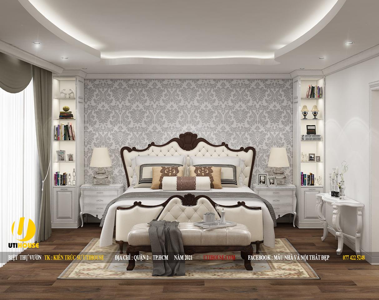 Mẫu thiết kế nội thất căn hộ chung cư 65m2 2 phòng ngủ đẳng cấp