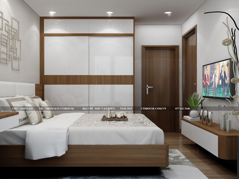 Mẫu thiết kế nội thất chung cư 65m2 kiêu sa quý phái
