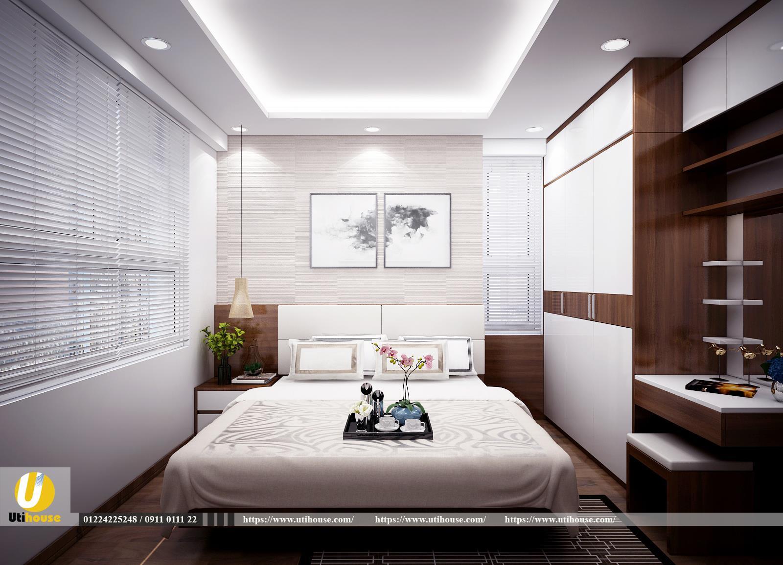Top mẫu thiết kế phòng ngủ 20m2 đẹp tiện nghi theo xu hướng