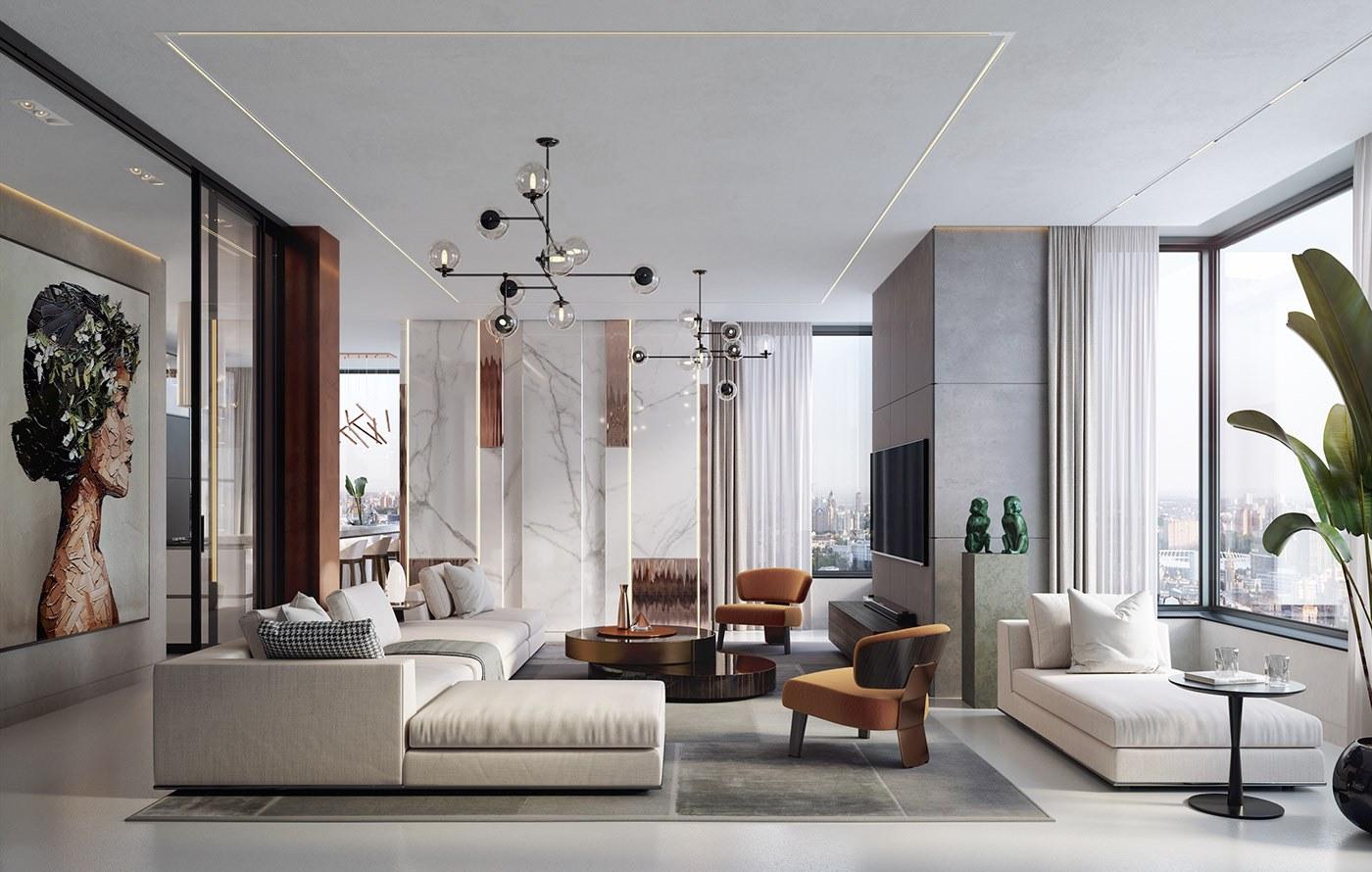 Tối ưu hóa diện tích phòng khách chung cư bằng ghế sofa thông minhTối ưu hóa diện tích phòng khách chung cư bằng ghế sofa thông minh