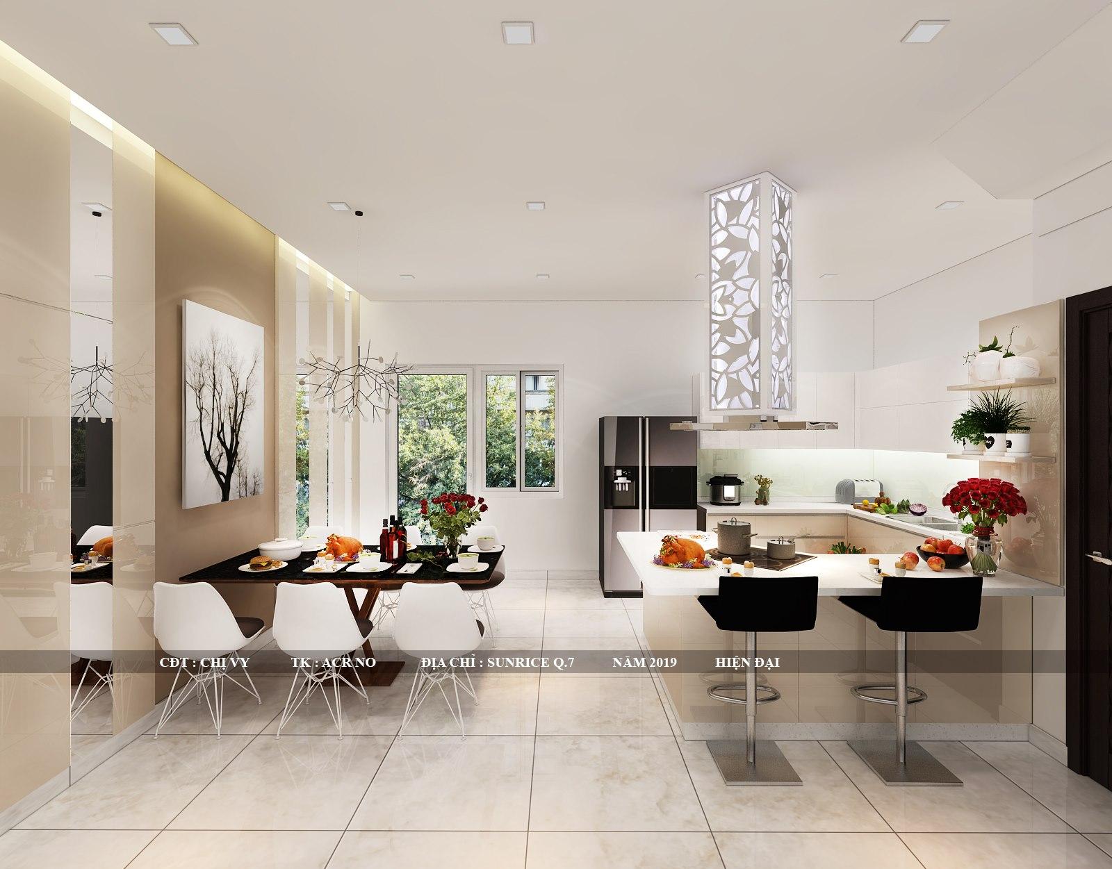 Các mẫu thiết kế nội thất nhà phố đẹp dẫn đầu xu hướng 2021 đến từ Utihouse