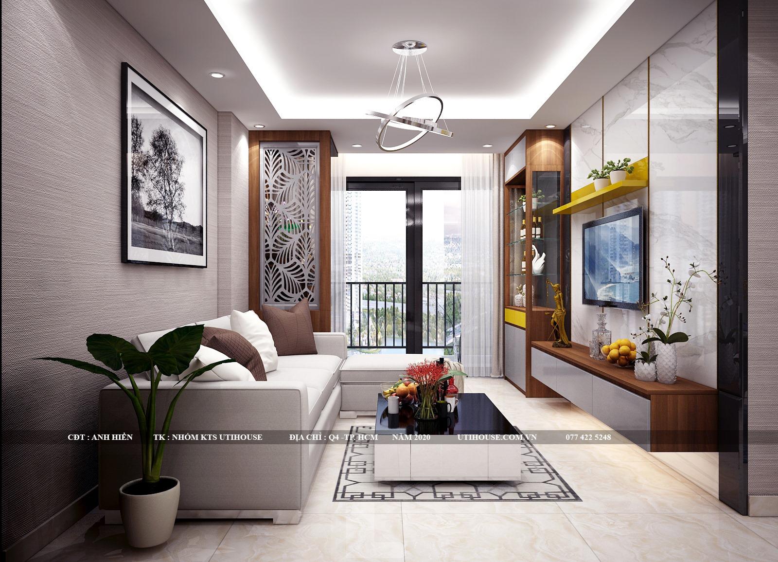 Phong cách thiết kế nội thất chung cư cao cấp bền vững với thời gian