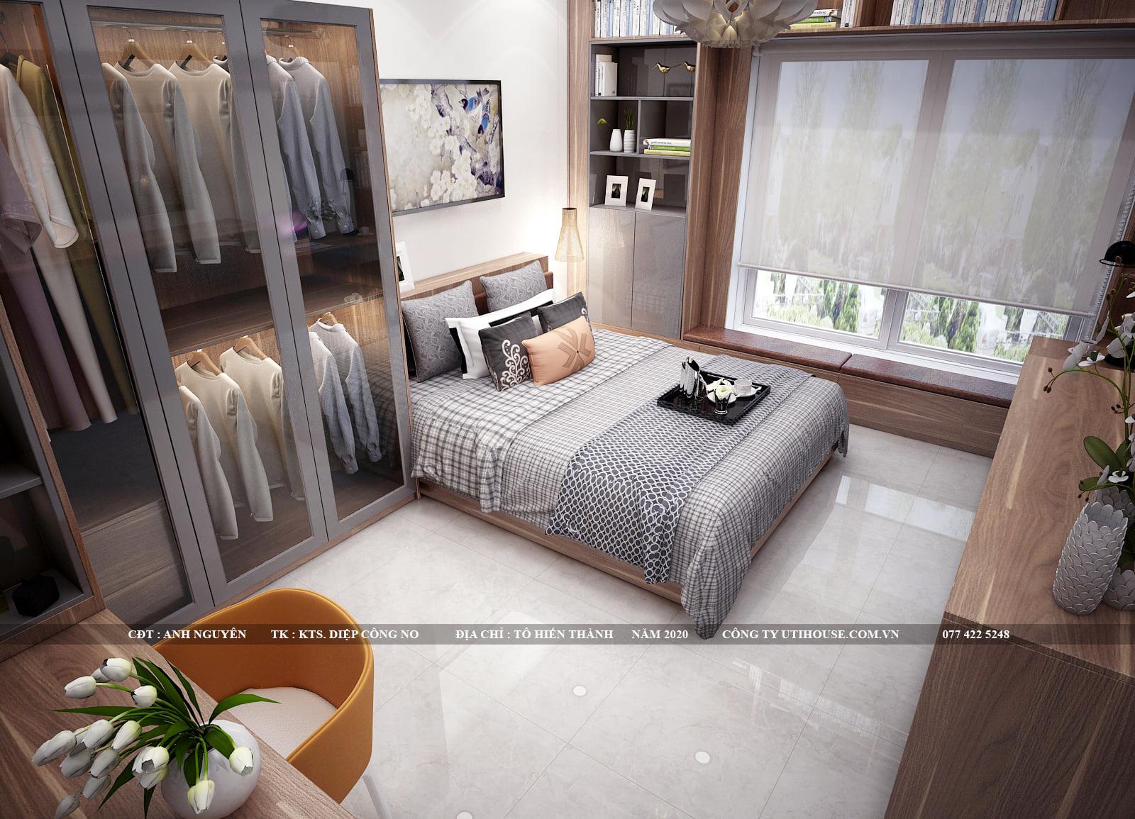 Xu hướng thiết kế nội thất phòng ngủ sử dụng đồ nội thất thông minh