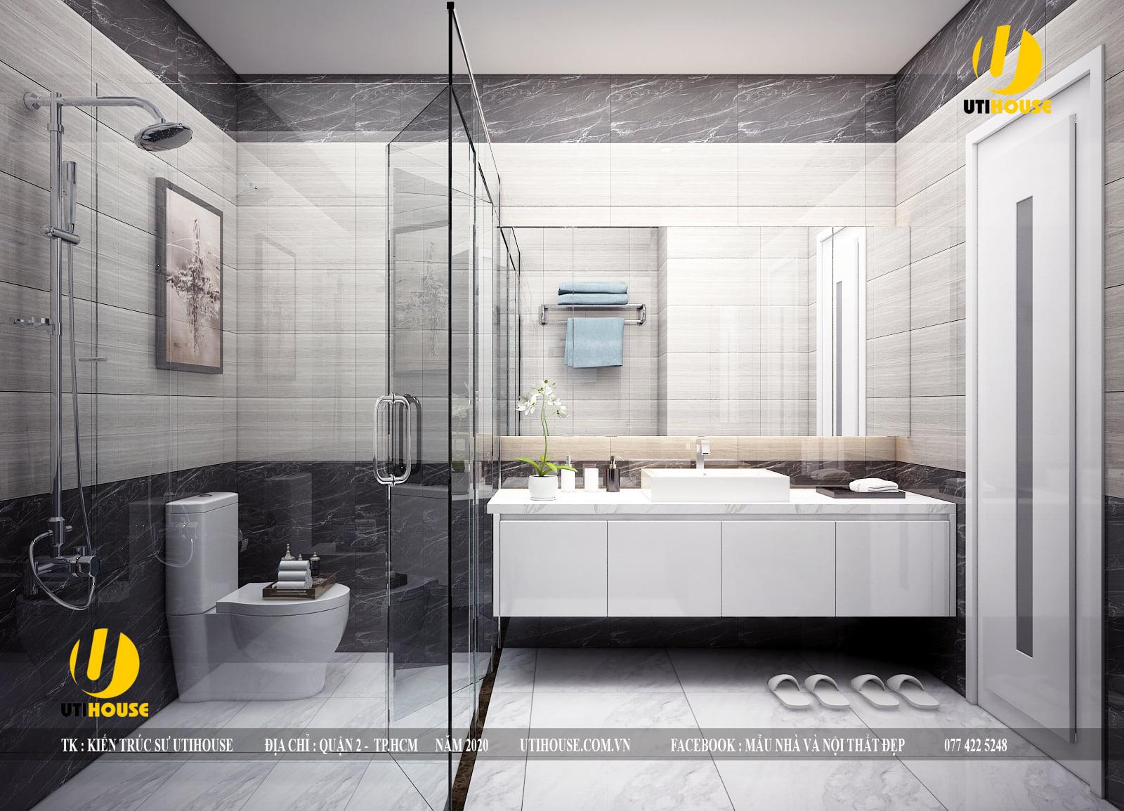 Xu hướng thiết kế nội thất phòng tắm sang trọng, tiện nghi cho mọi nhà