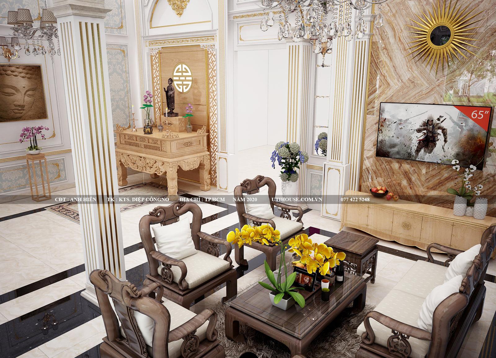 Những mẫu thiết kế phòng khách đẹp, tiện nghi được ưa chuộng nhất 2021