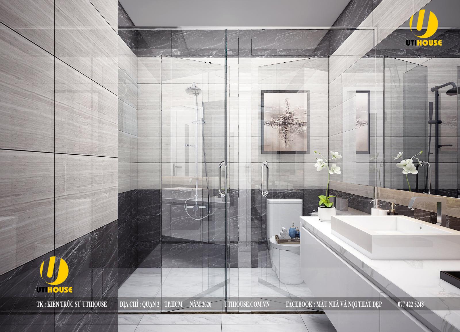 Tổng hợp mẫu thiết kế phòng tắm hiện đại, sang trọng