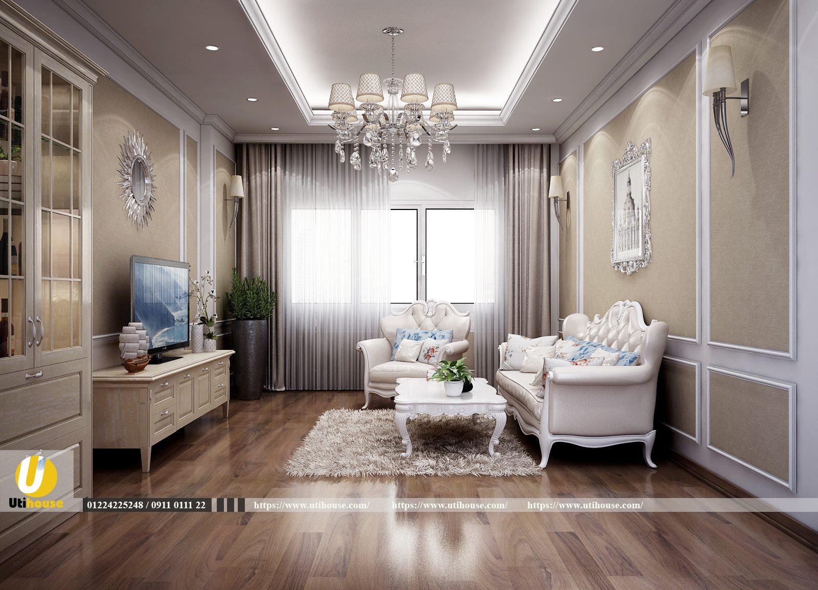 Top 10+ mẫu thiết kế phòng khách chung cư đẹp nhất 2021